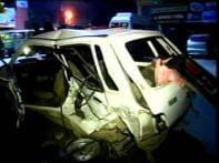 <a href='http://ibnlive.in.com/news/teen-arrested-for-delhi-road-accident/80503-3-1.html'>Teenager arrested</a> | <a href='http://ibnlive.in.com/news/speeding-scorpio-rams-into-maruti-kills-5-in-delhi/80413-3-1.html'>Scorpio rams Maruti</a>