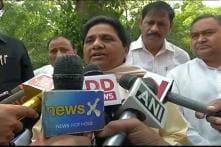 SP Government Not Taking Mathura Incident Seriously: Mayawati