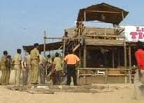 Goa govt cracks the whip on illegal beach shanties