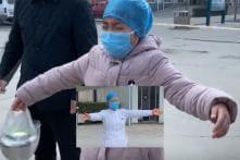 WATCH: Chinese Nurse Treating Coronavirus Patients Gives Air Hug to Sobbing Daughter