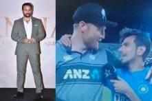 Saif Ali Khan Wants to See Yuzvendra Chahal Taking Martin Guptill's Wicket
