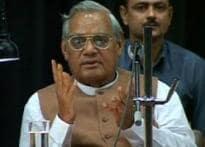 Ex-PM Vajpayee hospitalised; docs say he is fine