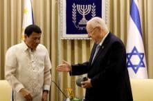 Israel President Rivlin Lectures Philippine's Duterte on Hitler