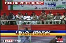 Trinamool organises rally, warns Congress