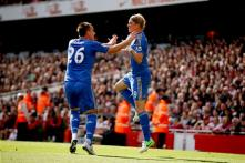 Chelsea win at Arsenal to continue strong start
