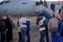 After 197 Days In Space, Astronauts Touch Base On Earth