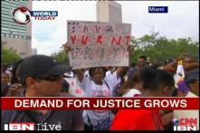 Martin's death case: Rallies held across US over Zimmerman's acquittal
