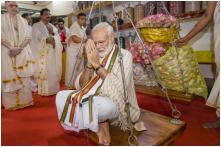 PM Modi Offers Prayers at Guruvayoor Temple in Kerala