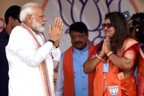 Bengal's Saumitra Khan Couldn't Rally for Himself; Armed With Modi's Pep Talk, His Wife Does the Job