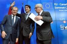 EU, Canada Sign Long-delayed Trade Deal After Belgian Drama