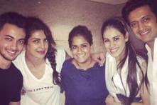 Arpita Khan parties with Salman Khan, Priyanka Chopra, Aayush Sharma; shares photos on Twitter