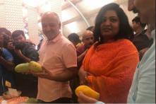 At Delhi's Mango Festival, Manish Sisodia Resorts to  'Aam' Humour