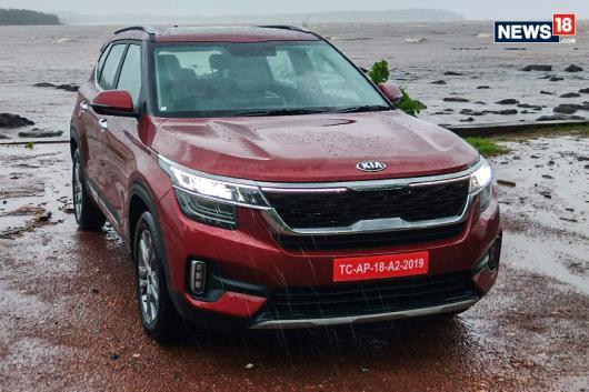 Kia Seltos SUV. (Image: Arjit Garg/News18.com)