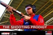 Shooting prodigy Manav Aditya Rathore