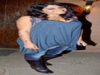 Bollywood stars at 'Kai Po Che' success party