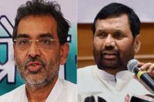 Paswan, Kushwaha Reject 50-50 Formula for Bihar; Seek Same Number of Seats As in 2014 Polls