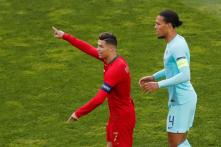 Virgil Van Dijk's Joke on Ronaldo's Absence From Ballon d'Or Ceremony Sparks Backlash