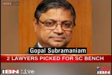 Gopal Subramaniam, Rohington Nariman likely to be appointed SC judges