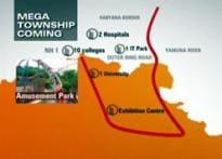 Mega township coming up in North Delhi