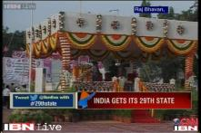 Watch: Celebrations in Hyderabad as Telangana becomes India's 29th state