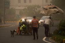 PICS: Dust Storm Hits Delhi; Flight Services Affected