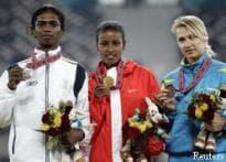Despite row, TN honours Santhi