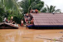 PHOTOS: Hundreds Missing after Laos Dam Collapse