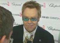 Elton John celebrates 60th b'day