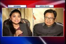 Watch: Kanhaiya Kumar didn't pacify students but incited them, says Kiren Rijiju