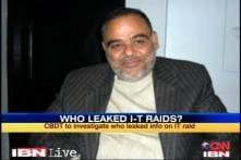 CBDT to probe who leaked Ponty Chadha raids info