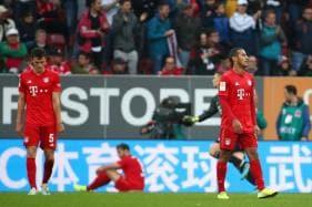 Bundesliga: Bayern Munich Slip Up Again as Augsburg Snatch Dramatic 2-2 Draw