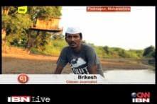 CJ Brikesh saves environment Gandhigiri style!