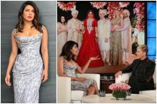 Priyanka Chopra Appears on The Ellen Show in a Glamorous Cocktail Dress