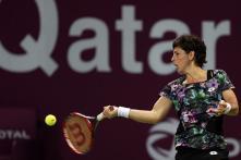 Suarez Navarro beats Radwanska to reach Qatar final