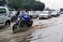 Heavy Rains Cripple Traffic in Delhi NCR