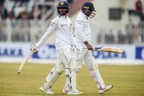 Dhananjaya Helps Sri Lanka Reach 263/6 on Rain-hit Day in Rawalpindi Test