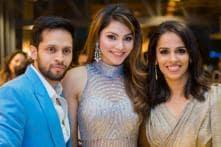 Urvashi Rautela Turns Bridesmaid For Shuttler Saina Nehwal