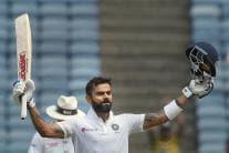 Virat Kohli Becomes 1st Indian to Score Seven Test Double-Tons