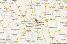 Delhi: Protesters demand rehab of Muzaffarnagar riots victims