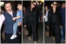 Kareena Kapoor Returns to Mumbai with Saif Ali Khan, Taimur and Hermes Bag Worth Rs 13 Lakh