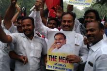 DMK Party Workers Celebrate 2G Spectrum Scam Verdict