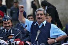 Demonetisation Ended Stone-pelting in Kashmir: Manohar Parrikar