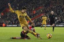 Dele Alli Double Helps Spurs Sink 10-man Southampton
