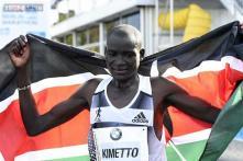 Kenyan Dennis Kimetto smashes marathon world record in Berlin