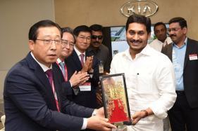 Jagan Reddy Inaugurates KIA Motors Manufacturing Plant in Andhra Pradesh