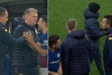 John Terry Crushes Mateo Kovacic's Hand Following Chelsea's Win Over Aston Villa