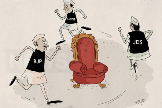 Illustration by Mir Suhail. (News18)