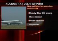 Near miss for Bihar deputy CM at airport