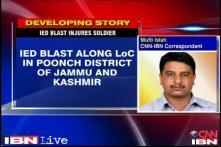 J&K: Army jawan injured in an IED blast along LoC in Poonch