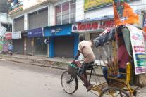 Bhatpara Bandh: Market, Street Wear a Deserted Look
